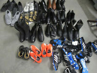 Job Lot Footwear Ladies Branded Shoes, Kids Football Boots Mens Trainers