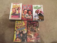 Bottom / The Young Ones VHS Job Lot BBC