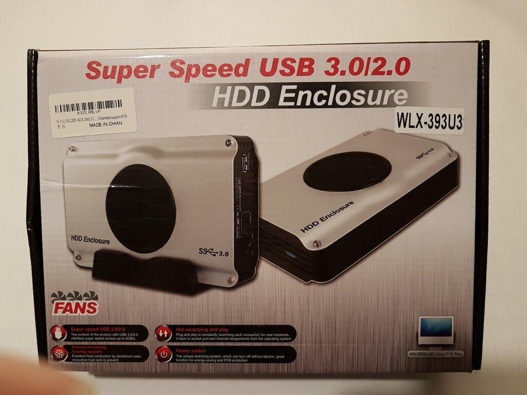 Super Speed Usb 3 0 2 0 Sata Hdd Enclosure In Blackheath London