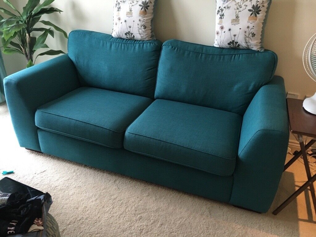 3 seat sofa with removable arms from DFS almost new