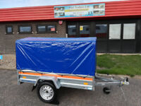 Brand New Camping Trailer ECO 6ft 56'' x 3ft 48'' ( 200cm x 106cm ) 750kg