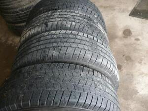 Four  245-75-16  Michelin tires $200.00