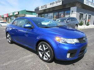2012 KIA Forte Koup SX PLUS (Leather, Sunroof, Manual)