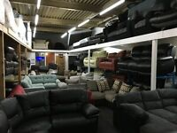 Ex-display/New Dfs, ScS, LazyBoy Sofas 3 Seater + 2 Seater + Corner Sofa + Footstools