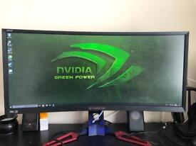 Predator z35 curved monitor