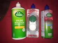 Contact lense solution