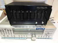 ADC Sound Shaper One Stereo Frequency 5-band Equalizer MOdel: SS-1 !!!!! Great for Turntables