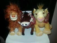 Lion king soft toys all medium very collectable
