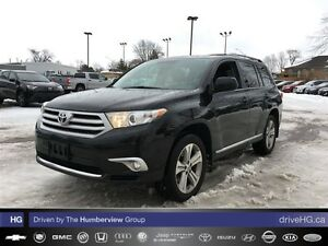 2012 Toyota Highlander 4WD V6 5A | LEATHER | HEATED SEATS | BACK