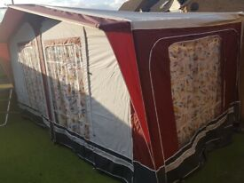 BRADCOT large caravan full size awning - size 6 (785cm)
