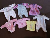 Tiny baby girls baby clothes