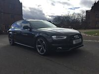 Audi A4 Avant Black Edition Replica 2011