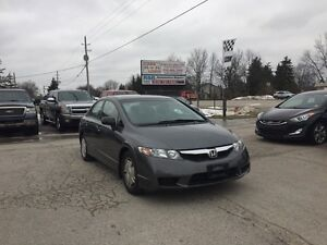 2010 Honda Civic DX-G - Only 83KM NO ACCIDENTS