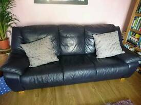 Leather sofa REDUCED