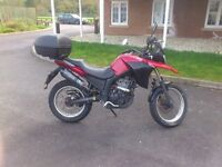 2008 Derbi Terra 125cc 4 stroke water cooled enduro bike with 15bhp very good condition long MOT