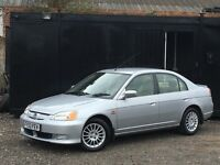 ★ HONDA CIVIC 1.3 IMA HYBRID SE EXECUTIVE + LEATHERS + ALLOYS ★