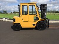 Cat dp 40 forklift low mask container spec with Mitsubishi 6 cylinder engine 4th valve