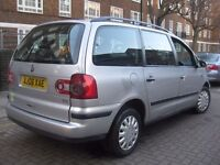 VW VOLKSWAGEN SHARAN NEW SHAPE 7 SEATER FAMILY MPV @@@ AUTOMATIC DIESEL @@@ 5 DOOR HATCHBACK