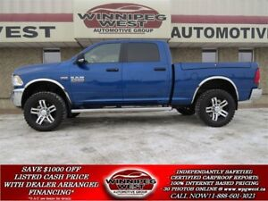 2016 Dodge Ram 2500 SLT CREW 4X4, RAM BOX, BLUETOOTH, NAV READY!