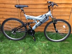 SHOCKWAVE 500 FULL SUSPENSION MOUNTAIN BIKE EXCELLENT CONDITION