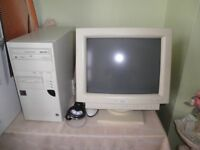 Desktop PC Computer & Monitor, Keyboard & Mouse for sale!!