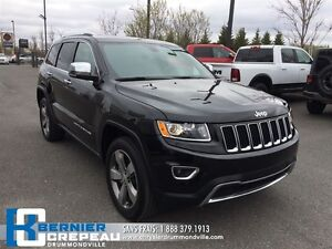 2016 Jeep Grand Cherokee Limited **TOIT OUVRANT, CAMERA + WOW!!