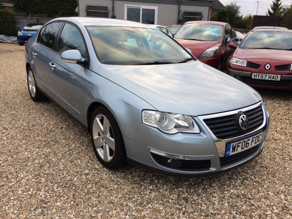VW Passat 2.0 TDI Sport 4 door. 2006 with 86,000 miles. 12 months MOT.