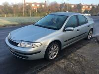 RENAULT LAGUNA EXTREME 2005 5 DOOR 1.8 SILVER LONG MOT DRIVES LOVELY CLEAN INSIDE AND OUT