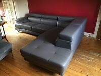Brand new L shaped sofa - too big for new house!