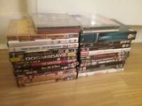 Collection of DVDS and CDS Stevenage