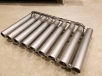 Bisque designer radiator/towel rail.