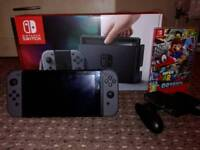 Nintendo switch almost new