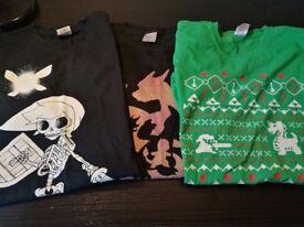 Pokemen and Zelda T-shirt (M)