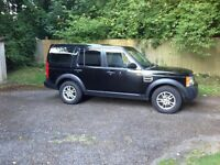 Landrover Discovery 3, black 2008. 12 months MOT. Excellent condition. Great example!