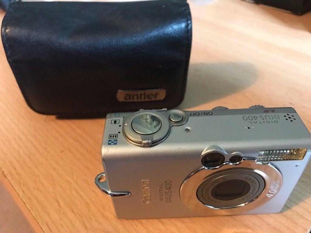 Canon IXUS 400 / PowerShot Digital ELPH S400 4.0MP Digital Camera - Silver