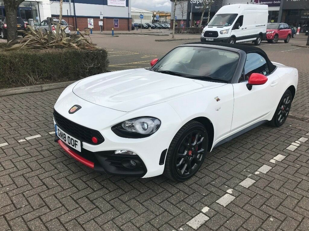 Car Lease Takeover >> Abarth 124 Spider 2018 Turini White Lease Takeover In Deal Kent