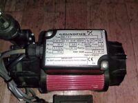 Grundfos SSL-1.4C Low Voltage Shower Single Pump