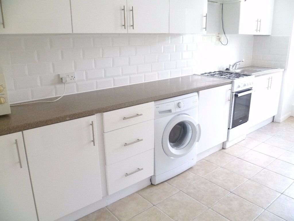 Three double bedroom flat in a high rise building situated on Shepherds Bush Green