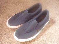SUPERGA navy coloured trainers - Size 40 (UK size 7)