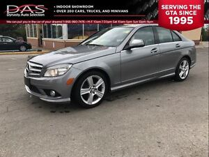 2009 Mercedes-Benz C-Class C300 4MATIC LEATHER/SUNROOF