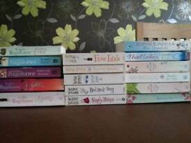 Selection of 16 paperbacks. Various authors.
