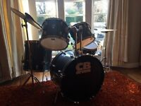 CB 7 Piece drum set with 2 cymbals