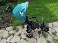 Qplay ride on trike - in very good condition