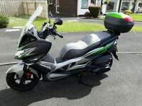 2017 Kawasaki j300 2000 miles still has 3 year warranty