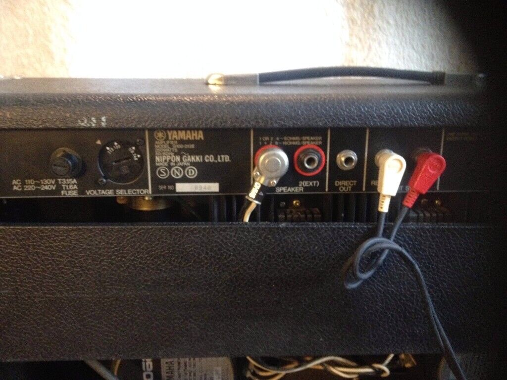 Vintage Yamaha G100-212 series 11 Amplifier simular to Roland JC120 /Fender  Twin Reverb for sale | in Bournemouth, Dorset | Gumtree