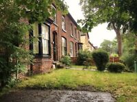 spacious 2 bed duplex flat with own garden, court yard, parking, set in Old Swan Greenfield Road L13