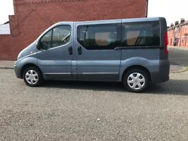 renault trafic dci ,115hp (timing chain)minibus 9 seats