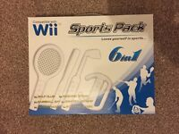 Brand New Wii Sports Pack 6 in 1 Accessories