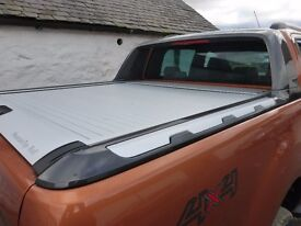 Ford Ranger wildtrak Roller cover canopy Mountain Top Roll New with factory spoiler