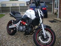 Motorbike Yamaha MT03, 660cc petrol.